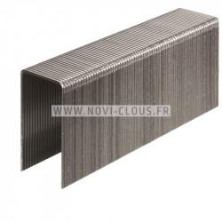 Pointes 4,00x60mm Galva en bande plastique 20° sabot d'ancrage