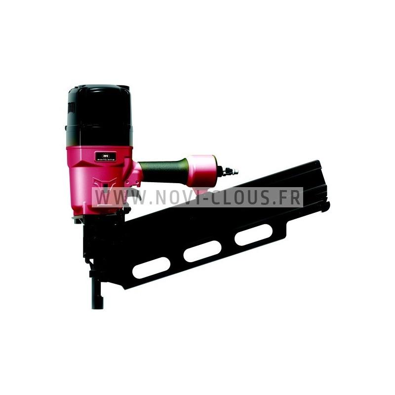 Pack 2000 clous en bande 34° 3.1x55 Annelées Inox TB + GAZ