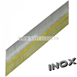 Clous en bande DA 32 mm Inox inclinées Brads TD 1,8mm