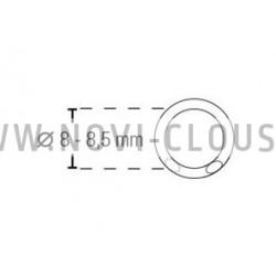 Agrafes G3 - 8mm Galva
