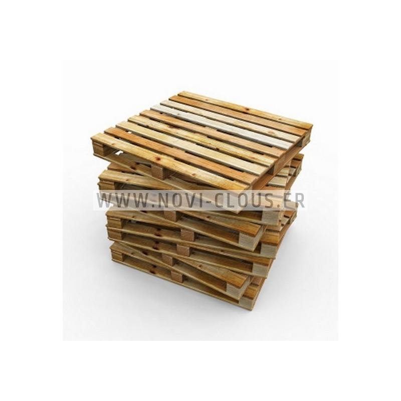 Pointes rouleau plat 16° 2,5x68 Spiralées Electro Galva