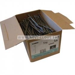 Pointes en bande Brads inclinées 45 mm Galva 16GA