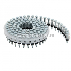 Clous Acier 25 mm CP-C625WO pour cloueur MAX HN25C