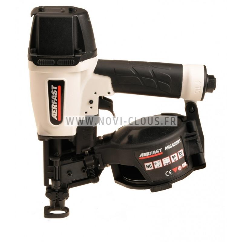 LOT BARDAGE CLOUEUR A GAZ GSN34-90 + 4 000 CLOUS INOX
