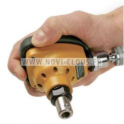 MAX HN 65 CLOUEUR PNEUMATIQUE HAUTE PRESSION BARDAGE pointes rouleaux 16° 32-65mm