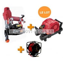 MAX TA116 21-13 AGRAFEUSE PNEUMATIQUE PROFESSIONNELLE agrafes 80 de 6 à 16mm