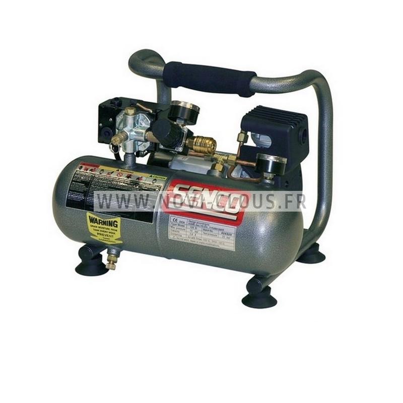 COMPRESSEUR AERFAST MECAIR MA06180 Cuve 6 L