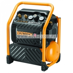 COMPRESSEUR à AIR SILENCIEUX BOSTITCH RC10SQ-E - Cuve 9.4 L