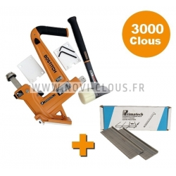 LOT CLOUEUR PARQUET BOSTITCH MFN201-E + 3000 Pointes