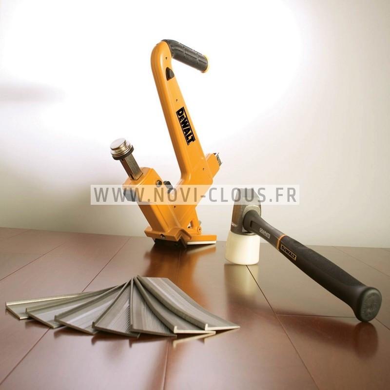 LOT PRIMATECH H330L CLOUEUR PARQUET MANUEL + 3000 clous