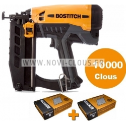 PACK BOSTITCH GFN1664K-E CLOUEUR à Gaz de FINITION + 10 000 clous