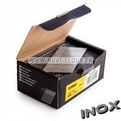 Pack pointes Brads 50 mm Inox 16GA + Gaz