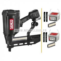 Pack pointes Mini-Brads 15 mm Galva 18GA + Gaz