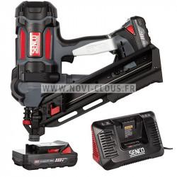 Pack pointes Mini-Brads 20 mm Galva 18GA + Gaz