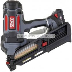 Pack pointes Mini-Brads 25 mm Galva 18GA + Gaz