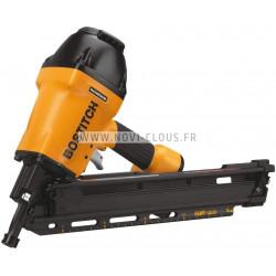 Pack pointes Mini-Brads 50 mm Galva 18GA + Gaz