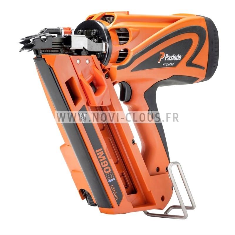 CLOUS Acier/Béton Extra dur XH 3x57 mm pour CLOUEUR DEWALT DCN890 Sans-fil