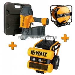 PACK CHARPENTE BOSTITCH N89C-2K-E + COMPRESSEUR DEWALT DPC16PS