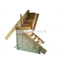 BOSTITCH MIIIFS Agrafeuse pneumatique spécial parquet 38 à 50 mm