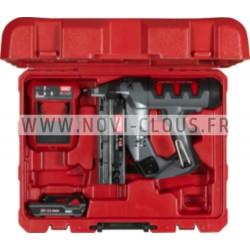 Pointes en bande 20° Brads inclinées 44 mm Inox 16GA