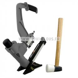 LOT BARDAGE DEWALT CLOUEUR DPN75C + 6 600 pointes rouleaux 2.3x55 mm Inox A4