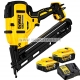 DEWALT DCN650P2 CLOUEUR FINITION SANS-FIL 18V 5 Ah pointes 32-63mm