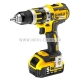LOT DEWALT CLOUEUR DCN660P2+ DCD797 PERCEUSE PERCUSSION 18V 5Ah