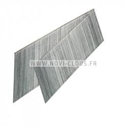 5940 clous rouleau INOX A4 crantés Tête bombée 2.5x55 mm carton