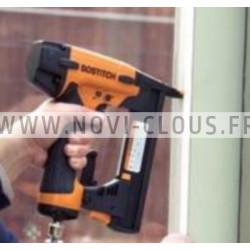 2200 Clous Inox en bande 34° 3.1 x 55 mm Annelés Tête plate