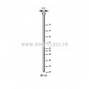 MONTANA GB16-64 CLOUEUR GAZ DE FINITION 25-64mm