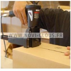Clous en bande 20° 4.6x160 Lisses acier