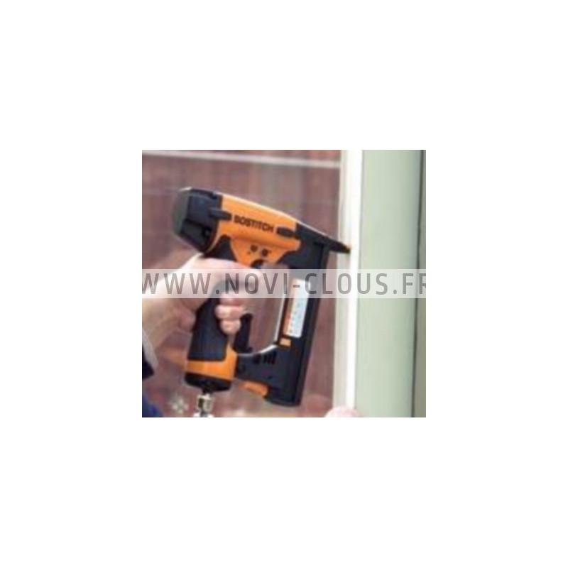 BOSTITCH BTCN110 Cloueur finition sans fil 18V 2.0Ah + 3 batteries