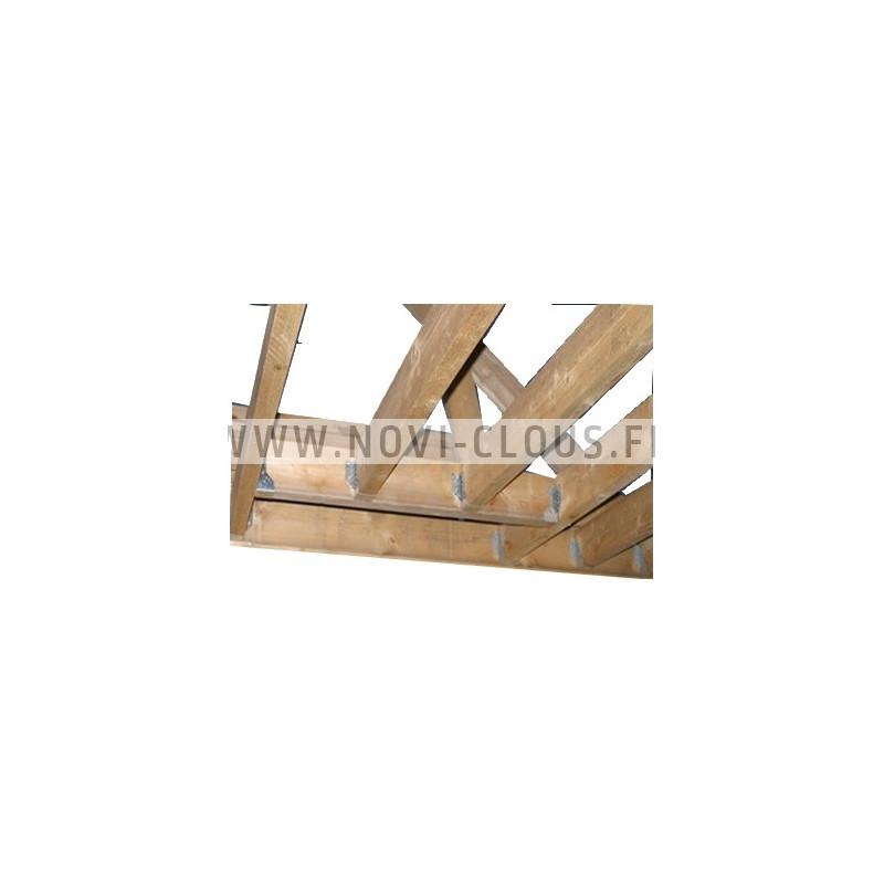 Agrafes 90 - 22mm Inox