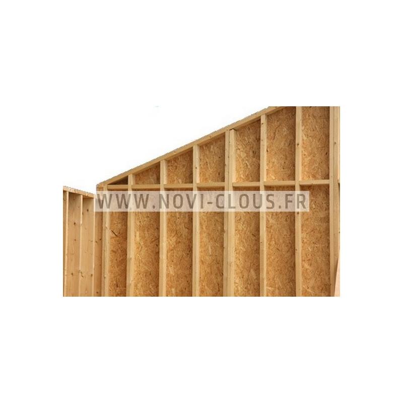 Agrafes BS - 100mm Inox pour isolants épais - BTE 1000