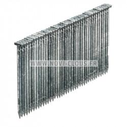 Agrafes BS - 130mm Inox pour isolants épais Bte 1280