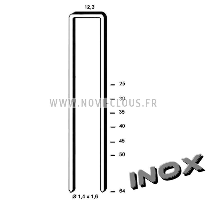 Agrafes G5562 - 45mm Galva
