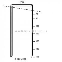 Nettoyant aérosol pour cloueurs et agrafeuses 400ml