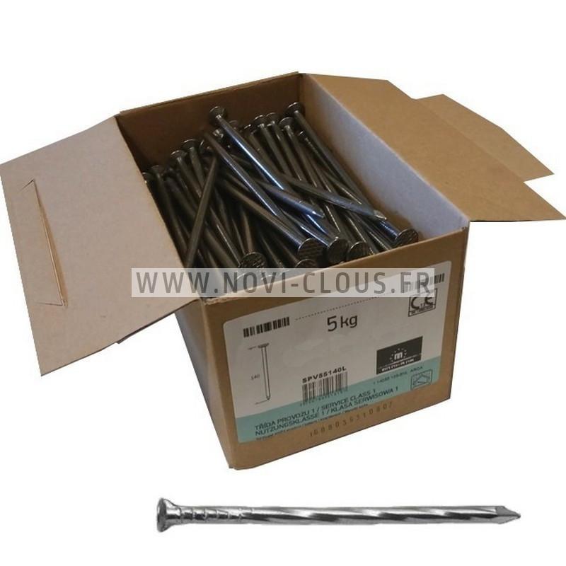 LOT BARDAGE BOSTITCH CLOUEUR N66C-2-E + 5250 clous 55 mm INOX A2