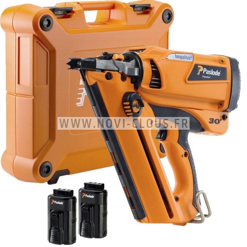BOSTITCH SB130S1-2-E Agrafeuse Isolation matériaux épais 65 à 130 mm